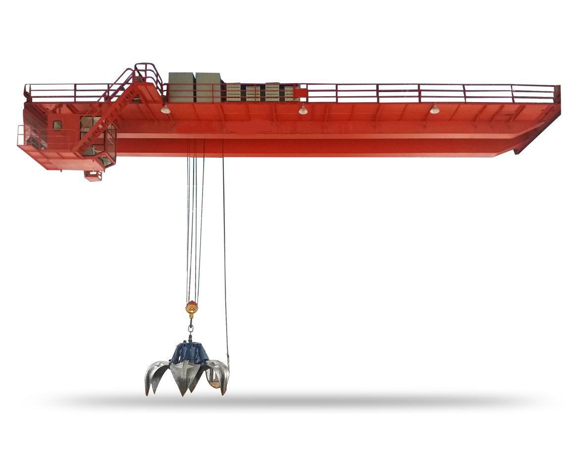 30 ton overhead crane with grab