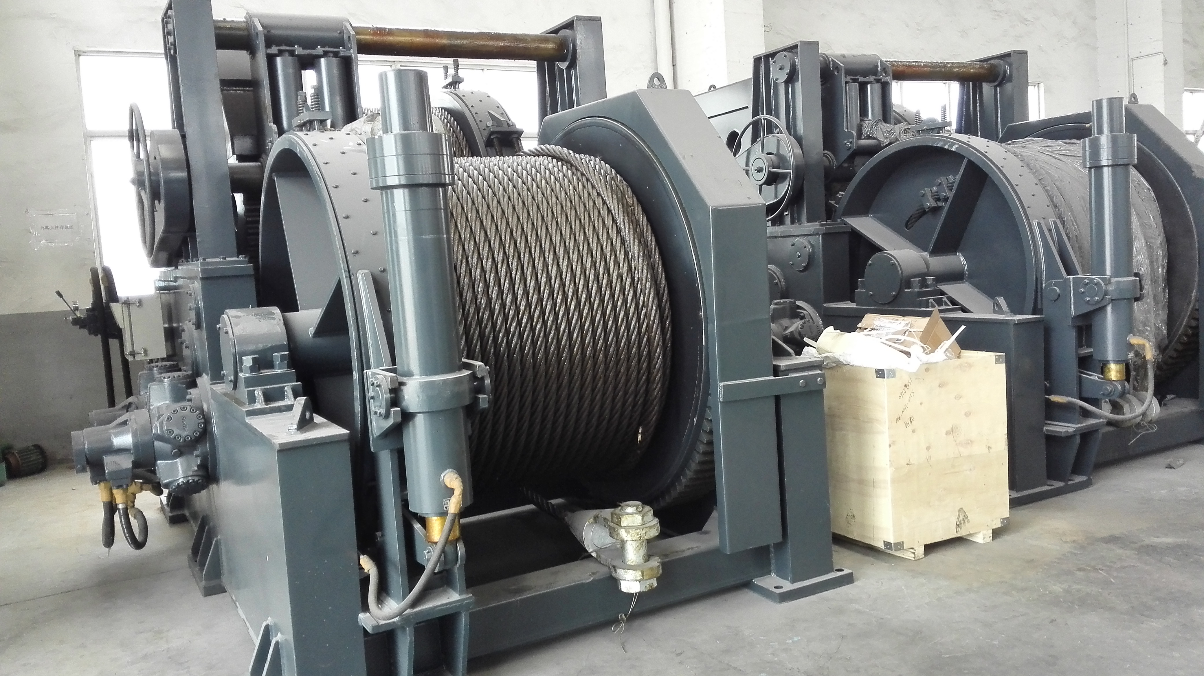 100 ton Marine Winch For Sale